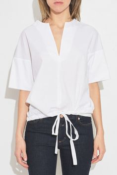 Jill Sander tie blouse