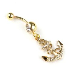 Body Jewelry Crystal Dream Catcher Navel Dangle Belly Barbell Button Bar Ring