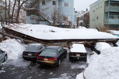 Avoid a Roof Collapse: Clear Off Heavy Snow - Charlestown, MA Patch