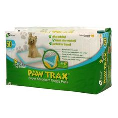Richell Paw Trax Pet Training Pads 50 Count >>> Check out this great product. (This is an affiliate link and I receive a commission for the sales)