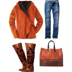 """Fall Cozie"" by sewgoochie on Polyvore"