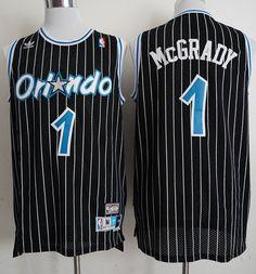 New Orlando Magic Tracy McGrady Black Basketball Jerseys 121deeb8f