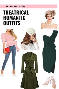 You're a Theatrical Romantic if you're primary extreme Yin but with Dramatic undercurrent. Here's how to dress a Theatrical Romantic Kibbe body type and how it looks like.