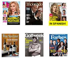 Free Magazine Subscription - Forbes, US Weekly, Golfweek & More!