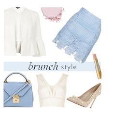 Brunch Style by keepfashion92 on Polyvore featuring moda, River Island, Topshop, John Lewis and Mark Cross