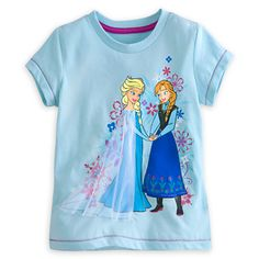 Disney Frozen Anna and Elsa Tee - 2013 #CyberMonday  Holiday Gift Guide: How to Get 25% off All Things #DisneyFrozen #DisneyFrozenEvent