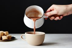 Cardamom Hot Chocolate
