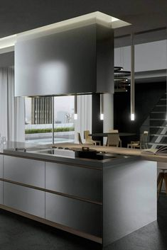 "Modern European Kitchen Cabinets are also dubbed ""Euro-style"" as they possess a sleek and ultra-modern design - with no surface face frames - along with doors and drawers that fit perfectly against the carcasses. European Kitchen Cabinets, European Kitchens, Kitchen Cabinet Styles, Shaker Style, Building Materials, Kitchen Styling, Modern Design, Drawers, Surface"