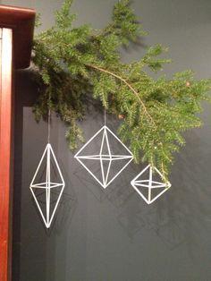 finnish geometric ornaments on etsy. https://www.etsy.com/listing/116082823/geometric-christmas-ornament-finnish