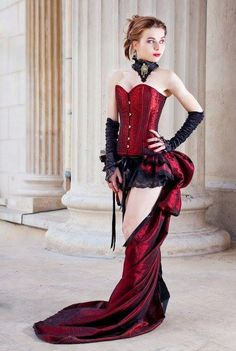 Steamunk victorian dress