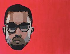 Kanye West by JacquiRizzoArt on Etsy