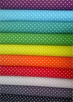 I want this!!!  LOVE polkadots! FabricWorm: Dots Dots Dots! Enter to win a sampler bundle from Momo!