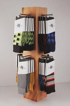 Richer Poorer socks. details.