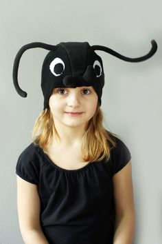 Ant costume hat, bug inject hat, kids dress up hat, kids costume hat, Bug feelers by Imeloom on Etsy