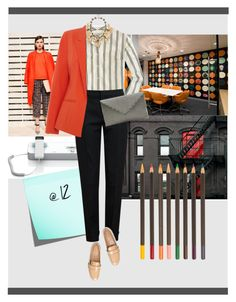 """job interview"" by sourlulu ❤ liked on Polyvore featuring J.Crew, Chloé, Mercedes-Benz, Tory Burch and Oasis"