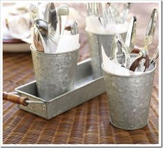 In my organized (Martha) dream life, I'll use these on my picnic table :)