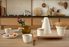 Un nuovo coffee set in ceramica