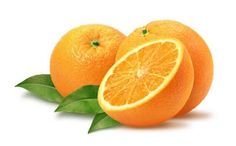 Vitamin C in oranges helps banish eye bags and strengthen the collagen in the skin