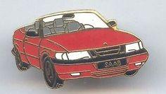 1995 Saab 900 Convertible Lapel Pin