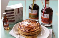 Infused maple syrup tasty enough to sip straight up
