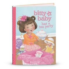 Bitty Baby Has a Tea Party | bbbookplush | American Girl