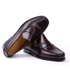 Sapatos Masculinos College Burgundy - The Craft Shoes Factory