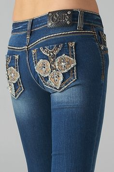 NWT Cello Spade designer jeans bootcut embellished Bling junior sizes – countryliving37