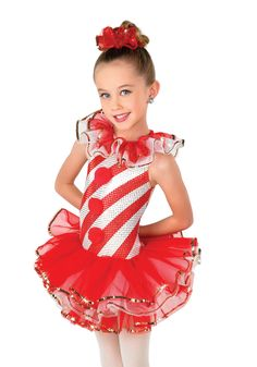 H393 - Peppermint Cutie, candy cane dance, Christmas show
