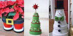 Clay Pot Christmas Crafts
