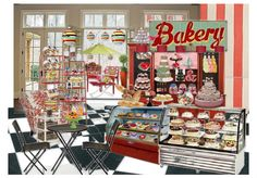 cookie's bakery ~~``~ by nicky1229 | Olioboard