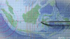 Analisis Dua Gempa Bumi di Laut Maluku yang Tak Berpotensi Tsunami