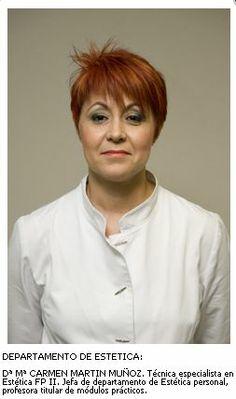 Carmen Martín. Departamento de Estética