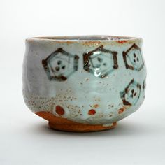 By Tanaka Genya (1924- ) Fourth generation of family ceramic business. Making mainly tea ceremony ware.