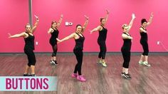 The Pussycat Dolls - Buttons ft. Snoop Dogg (Dance Fitness with Jessica) - YouTube