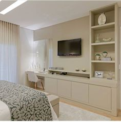 Design Of Bedroom Cabinet . Design Of Bedroom Cabinet . A Modern Tailored Home by Wendy Labrum Tv In Bedroom, Bedroom Dressers, Modern Bedroom, Bedroom Furniture, Master Bedroom, Bedroom Decor, Bed Room, Bedroom Cabinets, Apartment Design