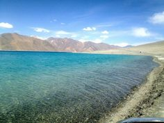 Water makes me happy. Leh, India