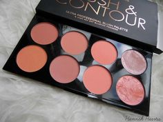 Makeup Revolution Blush & Contour Palette in Hot Spice