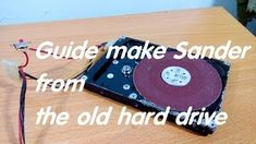 Today Channel Being Creative will guide you DIY mini Grinder from old hard drive, HDD Old hard drive as Sander To do this grinding machine we will need - 1 T. Make Your Own, Make It Yourself, How To Make, Pc Hard Drive, Grinding Machine, Cool Inventions, Tv Videos, Hdd, Arduino