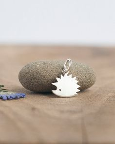 Silver Hedgehog Pendant Necklace - Fine Silver Hedgehog - Tiny hedgehog necklace Cute hedgehog pendant made of sterling silver. Size 15 mm*18 mm(with tiny ring on the top) Hedgehog will arrive to you on a cotton thread Lovely pendant could be nice gift for someone special Jewelry is