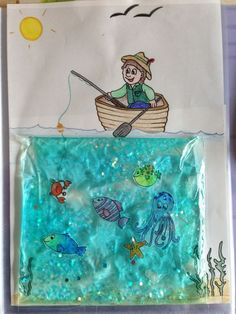 Pubg Games, Wallpapers, Clothes, Bacgrounds and all staff about the game - Interactive book Toddler Preschool, Toddler Crafts, Diy Crafts For Kids, Preschool Activities, Kids Crafts, Arts And Crafts, Ocean Activities, Toddler Activities, Summer Activities
