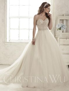 House of Wu 15583 at Audras Bridal Gallery !!!!!