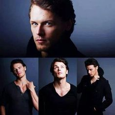 """Sam Heughan - When he """"Grows up"""" may there be help for society. He is going to rock the world. Outlander Book Series, Outlander 3, Starz Series, Sam Heughan Outlander, Diana Gabaldon, Pretty Men, Gorgeous Men, Beautiful People, John Bell"""