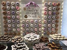 Donuts no casamento