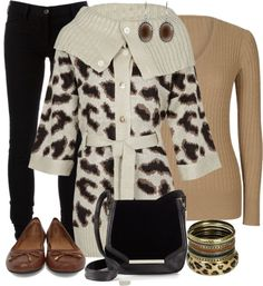 """Animal Print Contest #1"" by lifebeautiful ❤ liked on Polyvore"