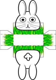 Schau Dir das Bild an auf BabyDuda: Osterkörbchen malen und basteln mit Vorlage zum Ausschneiden. Selbst Basteln & Verschenken zu Ostern