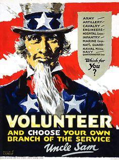 United States Civil War propaganda | American propaganda influencing young Americans to volunteer to fight ...