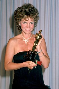March 26, 1985: But Sally didn't care if she was the meme of her day. She had her second Oscar.