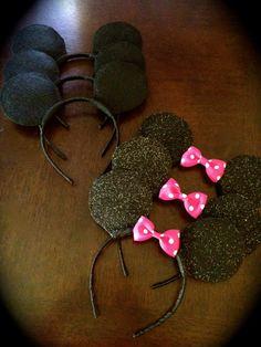 Mickey & Minnie Mouse Ears
