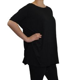 PIKO | TOP | SHORT-SLEEVE | CAMBRIDGE SELECT | SMALL | BLACK | $18