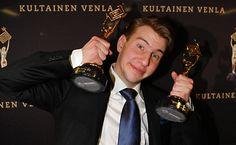 Kultainen Venla, tuo nykyajan Speden Musta käsi. Kuva: Telvis.fi #viikontrendi